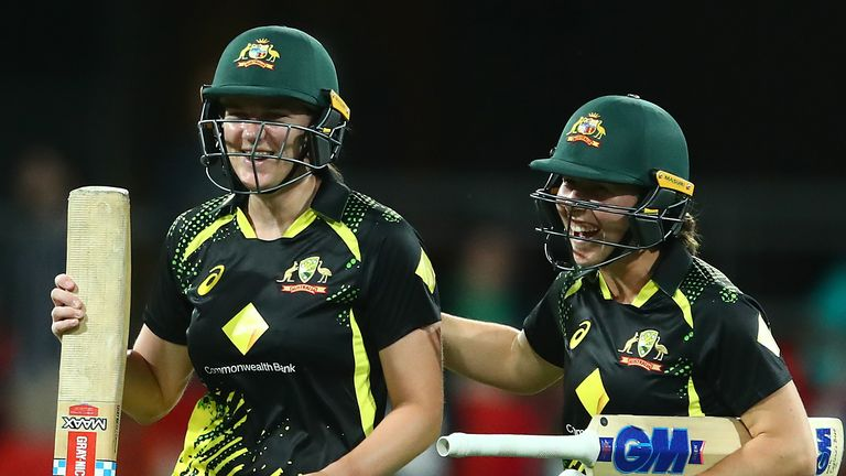 Tahlia McGrath scored 42 undefeated to overtake Australia and seal the T20 series