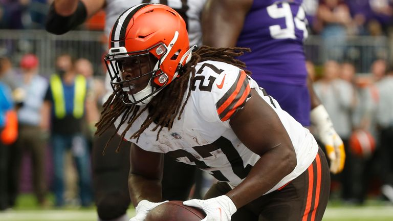 Highlights of the matchup between the Cleveland Browns and Minnesota Vikings from Week Four of the 2021 season.