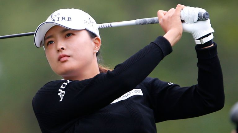 Jin Young Ko carded rounds of 63, 68 and 69 over the first three days
