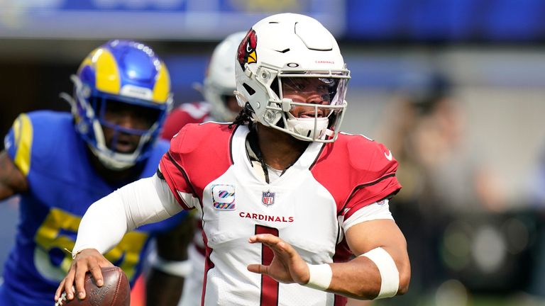 Cardinals QB Kyler Murray earned his first career win over the Rams courtesy of an impressive personal performance