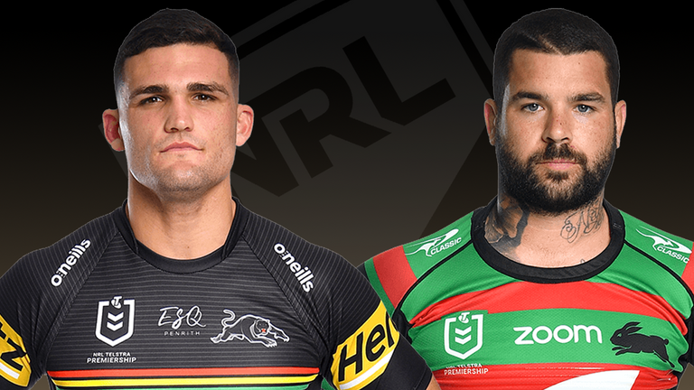 Penrith and South Sydney face off in Sunday's NRL Grand Final
