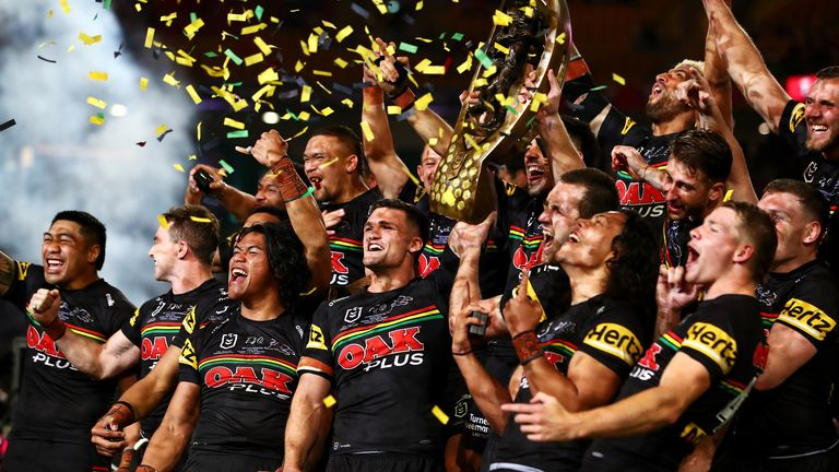 Penrith added a third title following wins in 1991 and 2003