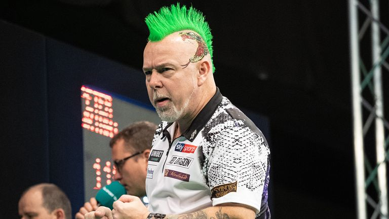 Peter Wright prepares to defend his European title in Salzburg |  Darts News