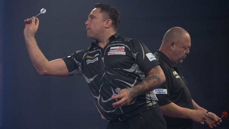 The 2012 Runners-up Kings cost to get a place in Thursday's quarter-finals (Photo: Lawrence Lastig / PDC)