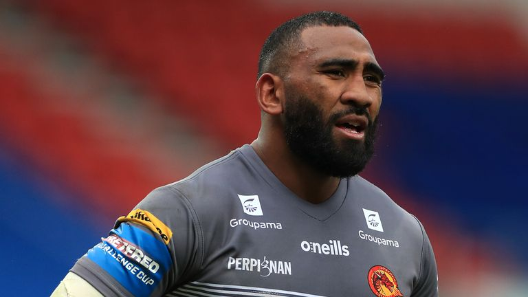 Samisoni Langi: Catalans Dragons center signs new 12-month contract after rejecting Wakefield move |  Rugby League News